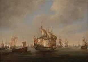WILLEM VAN DE VELDE (ATTR.) About 1611 Leiden - 16th