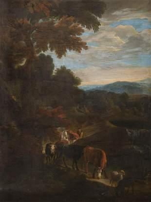 JOHANN HEINRICH ROOS (ATTR.) 1631 Otterberg - 1685