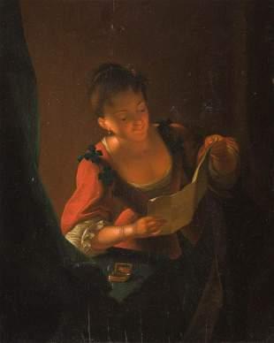 GODFRIED SCHALCKEN (SCHOOL) 1643 Made (Noord-Brabant) /