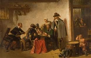 HERMAN FREDERIK CAREL TEN KATE 1822 The Hague - 1891