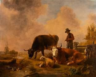 EUGÈNE JOSEPH VERBOECKHOVEN (ATTR.) 1798 Warneton