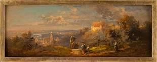 CARL SPITZWEG 1808 Munich - 1885 Ibid. Landscape in