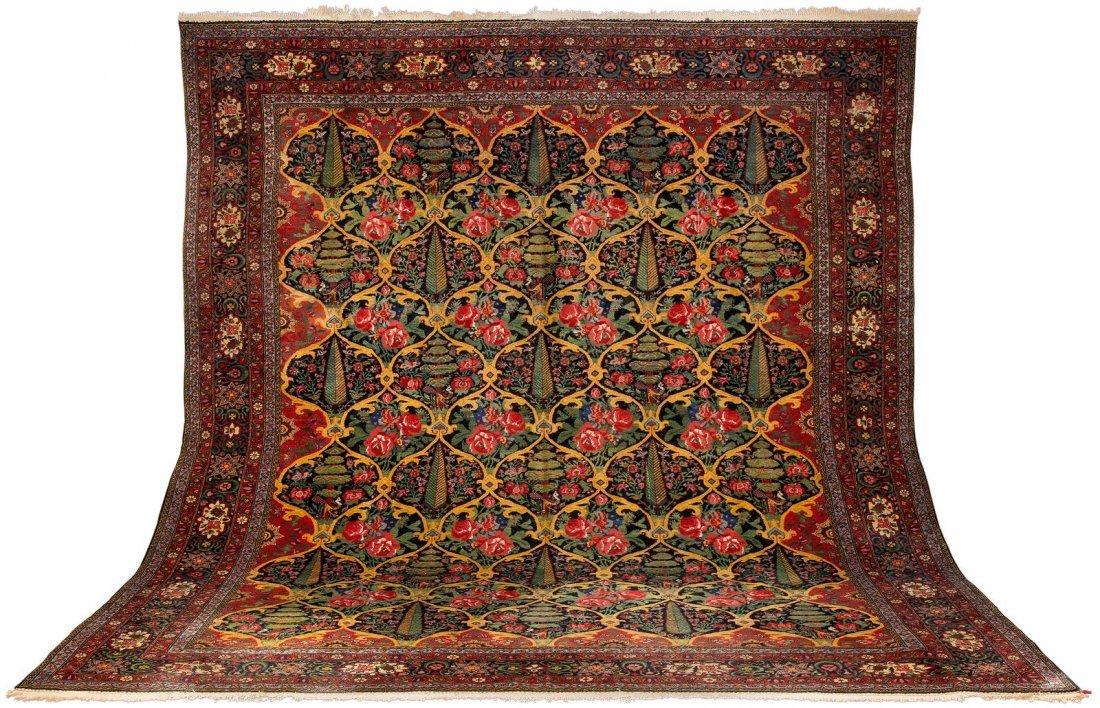 BACHTIAR Persien, um 1920 415 x 359 cm.