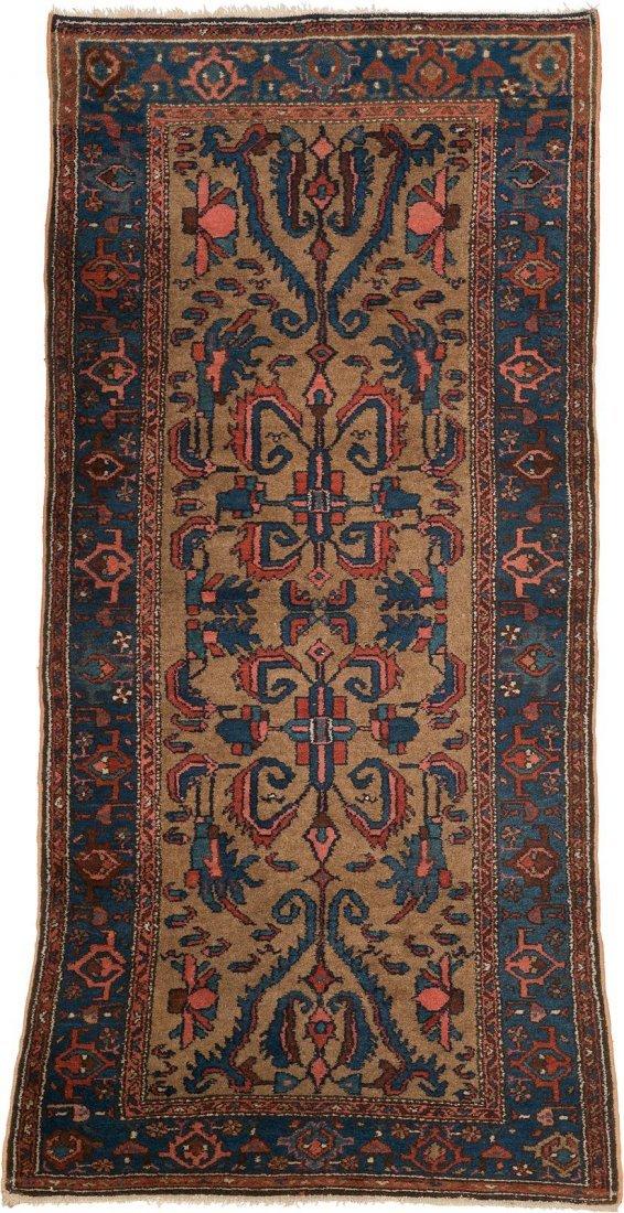 HAMEDAN Persien, um 1950 222 x 102 cm. Gebrauchsspuren.