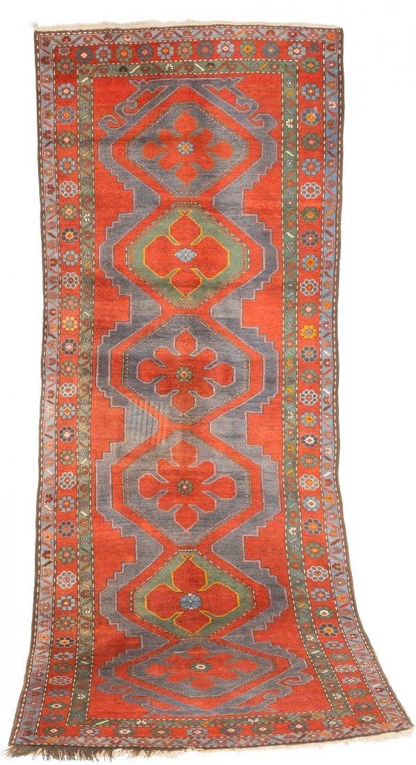KASAK Kaukasus, um 1940 350 x 132 cm. Leichte