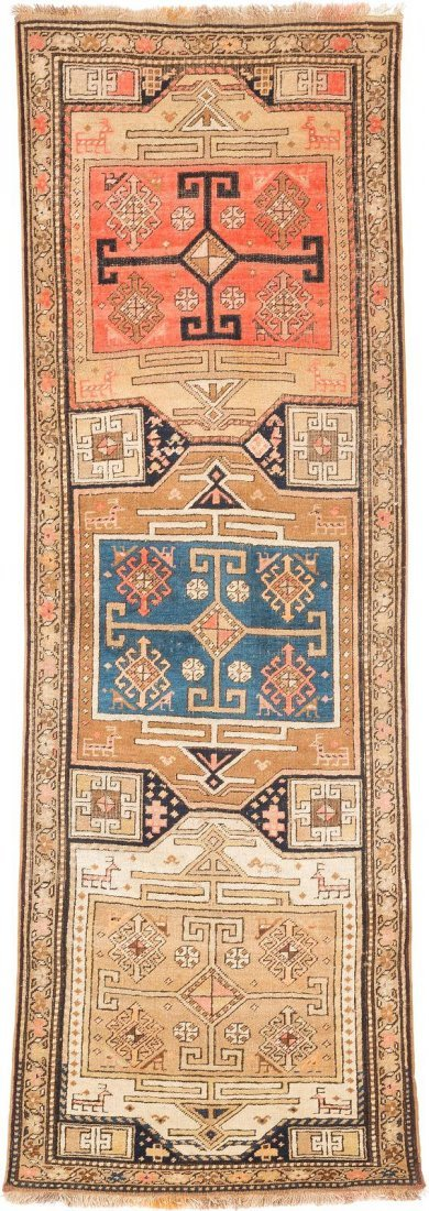 SCHIRWAN Kaukasus, Ende 19. Jh. 236 x 78 cm.