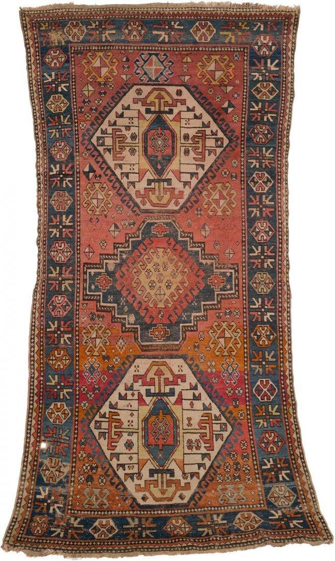 KASAK Kaukasus, um 1910 271 x 128 cm. Gebrauchsspuren.