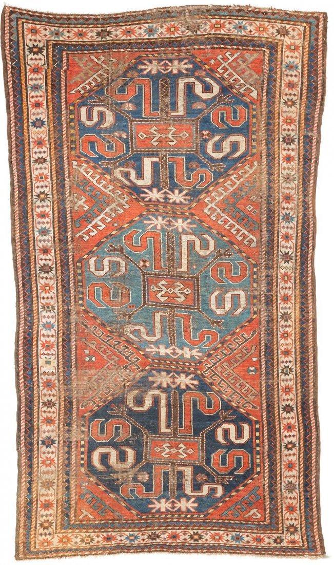 WOLKENBAND KASAK Kaukasus, Ende 19. Jh. 246 x 139 cm.