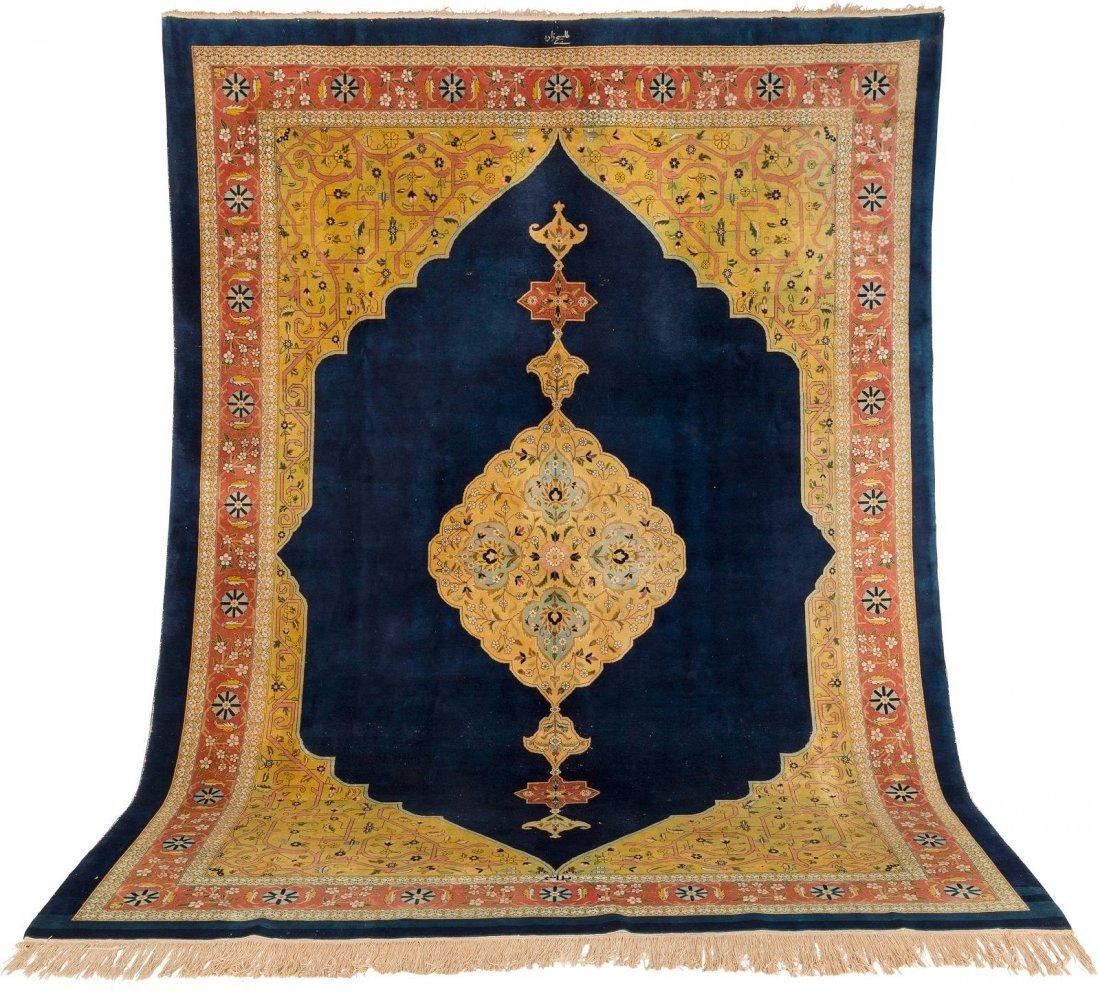 TÄBRIS Persien, um 1950/60 338 x 249 cm. Signiert oben