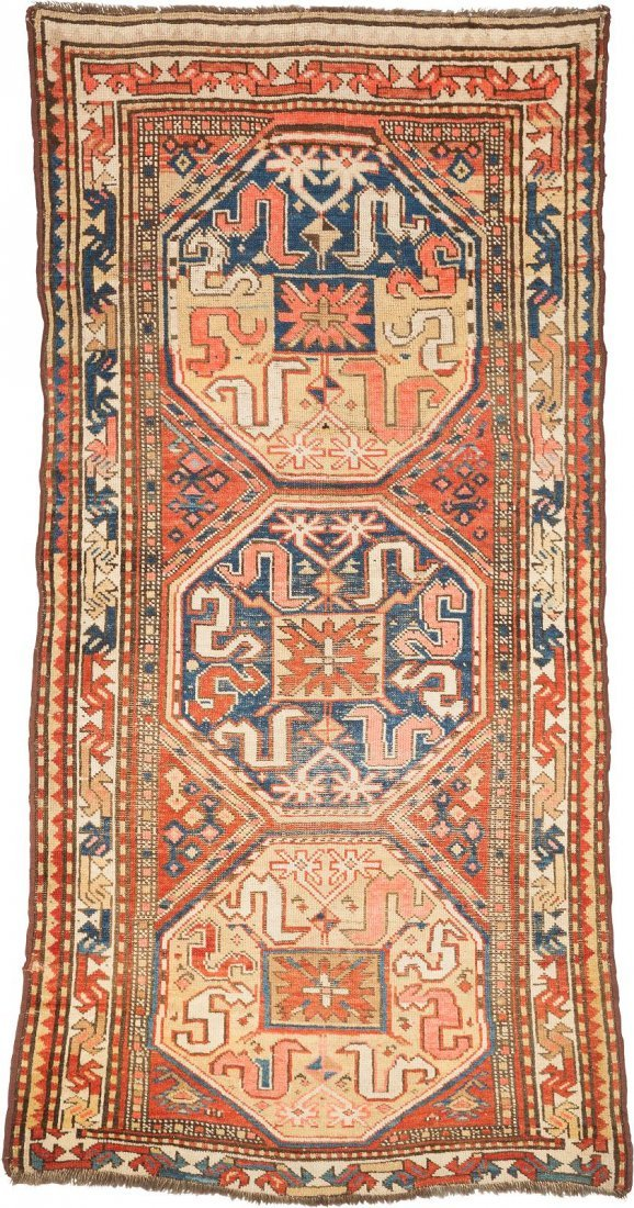 WOLKENBAND KASAK Kaukasus, um 1900/10 189 x 93 cm.