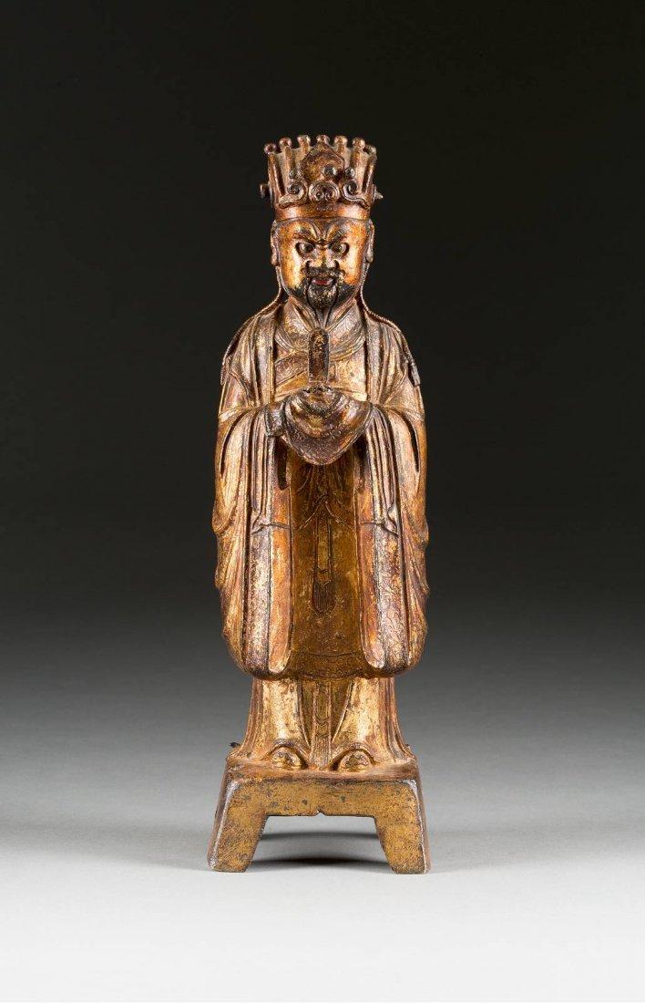HOFBEAMTER China, Ming-Dynastie, 16. Jh. Bronze,