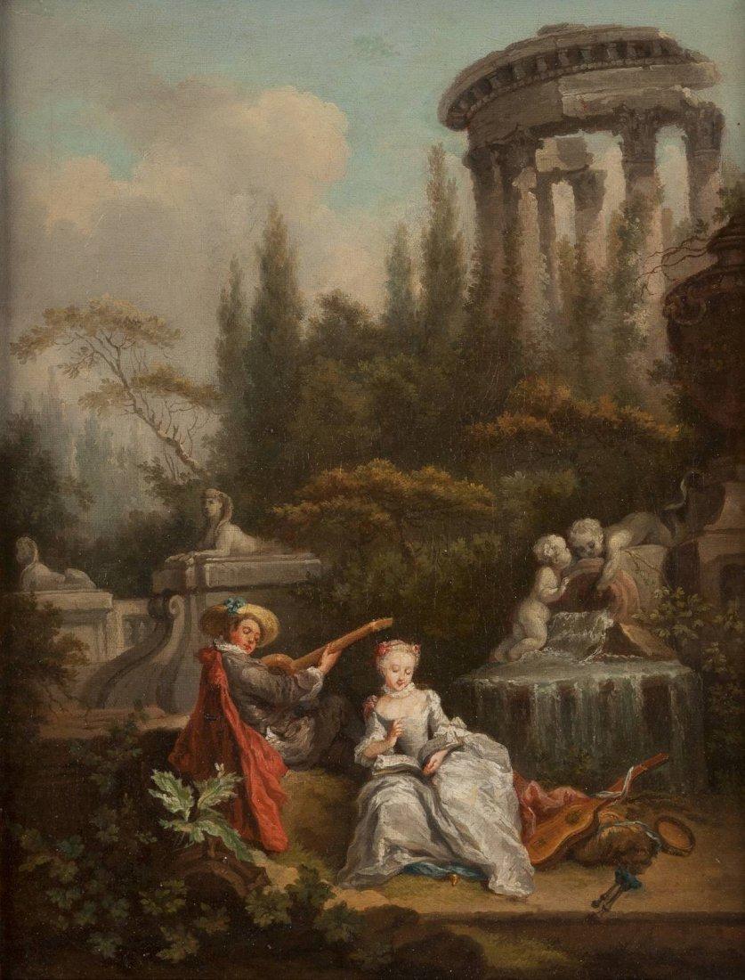 ANTOINE WATTEAU 1684 Valenciennes - 1721