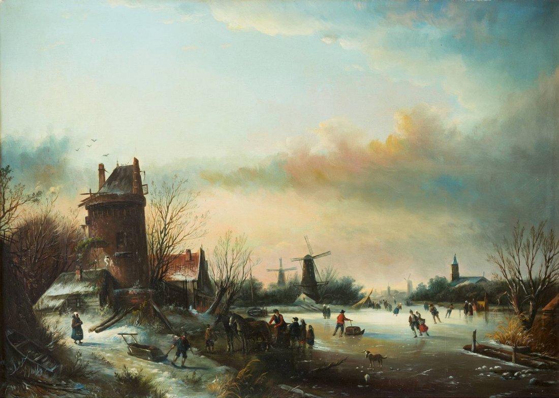 JOHANNES FRANCISCUS SPOHLER 1811 Nederhorst den Berg -