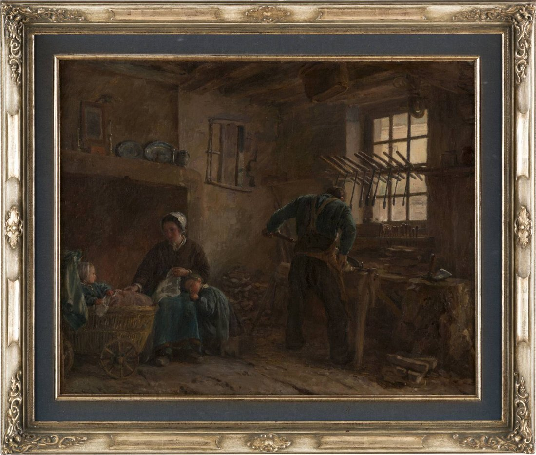 ADOLPHE FELIX CALS 1810 Paris - 1880 Honfleur Beim