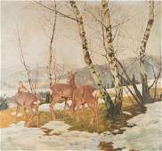 ROLF WINKLER 1884 Wien - 1942 München Winterlandschaft