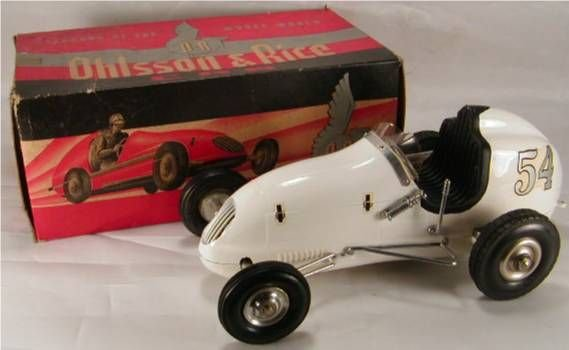 1021: Gas Powered Ohlsson & Rice Race Car with Box, 10