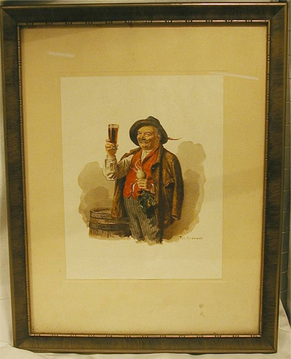 1003: Biermeister by Pet Kraemer Framed Art, 12W x 15H