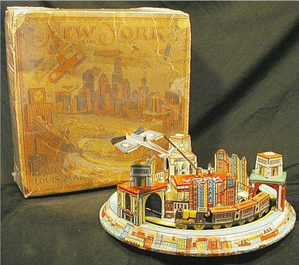 1058: Marx New York with Box, Toy near mint