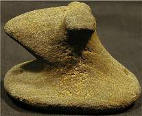 2045 Pop Eyed Bust Bird Stone Medina County Ohio 3