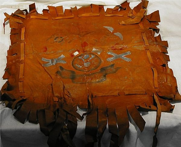 2008: 1917-1918 War Branches of Service, Leather Pillow