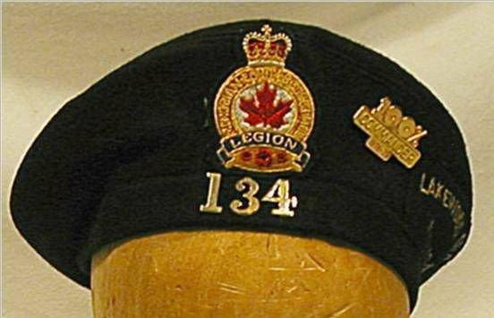 2023: Legion 134 Lakewood , Ohio Cap with Commander's
