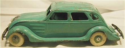 "3085: Kingsbury 1934 Chrysler Airflow. 14 1/2"" Long, W"