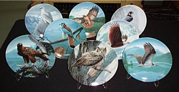 3001: Edwin M. Knowles, The Majestic Bird Plate Collect