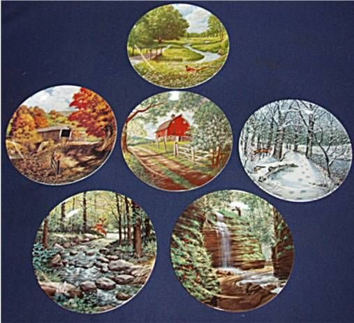 3148: Jerner's Less Traveled Road Collection, Set of 6