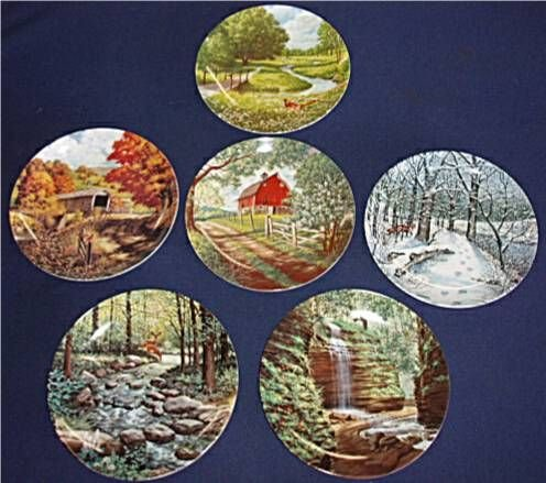 3148: Jerner's Less Traveled Road Collection, Set of 6 - 2