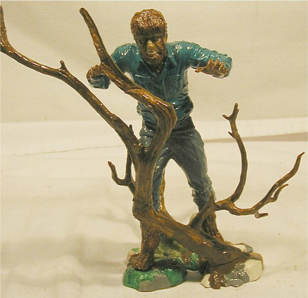 1011: The Wolfman Store Sales Display Model