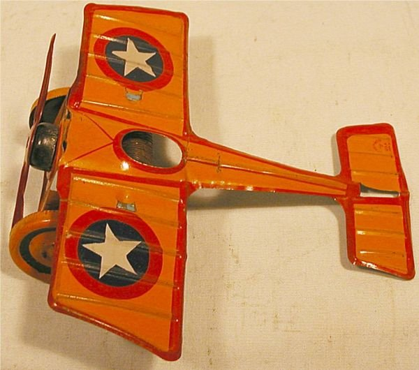 """1002: Chein Monoplane, 7"""" Wing Span, Very good Working"""