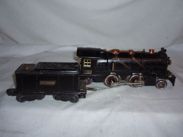 1009: Lionel 262E & 262T, Steam Engine and Coal Tender,