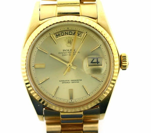 4004: 18kt YG Rolex Presidential Watch