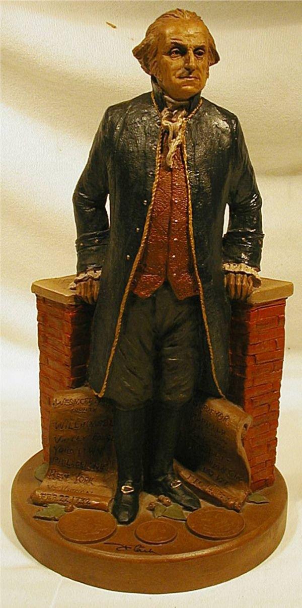 1003B: Tom Clark George Washington with COA , Excellent
