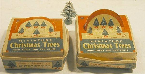 2014: Two Original Boxes of Four Miniature Vintage Bott