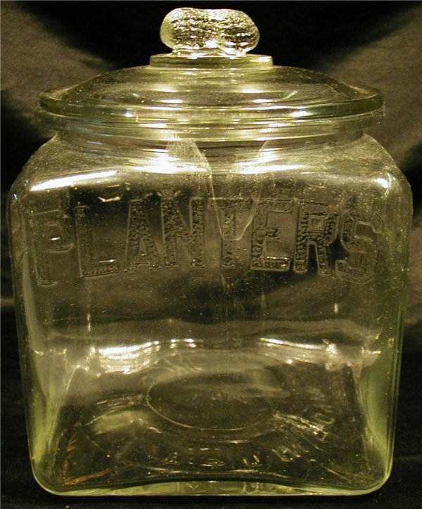 3008: Vintage Planters Peanut Jar, 7 x 7 x 9H