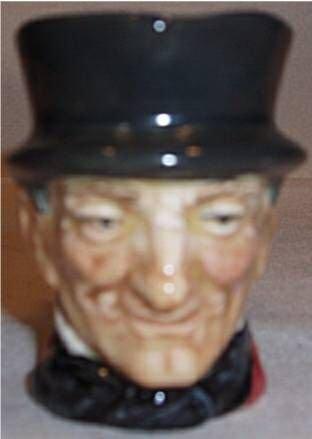 3013: Royal Doulton John Peel Toby Mug, 2 1/4H, Excelle