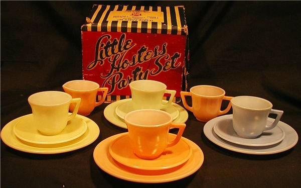 3011: Little Hostess Party Set by Hasel Atlas Glass Co.