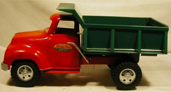 "5005: Tonka Dump Truck 1955. 13"" Long, This Truck is s"