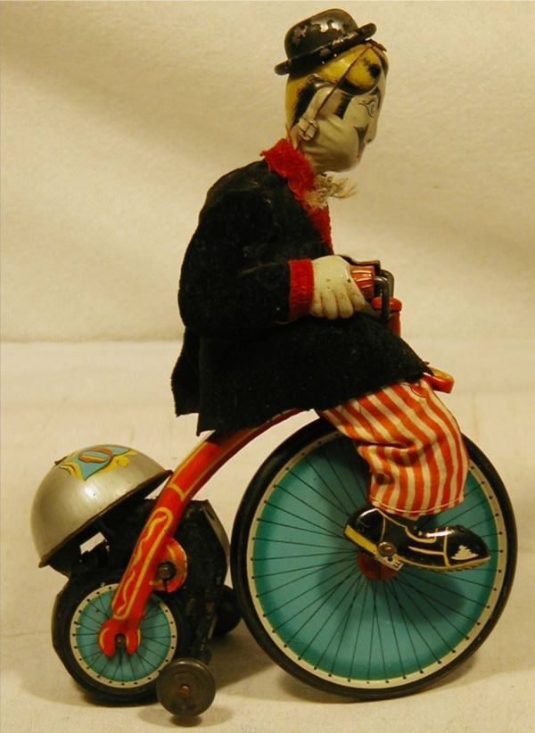 "5008: TPS Japan Gay 90's Cyclist Windup 7""H Very Good"