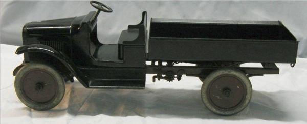 6020: Buddy L Rachet Dump Truck, All Original, 10H x 24