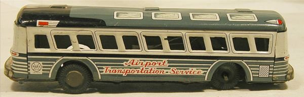 6004: Marx Airport Transportation Bus, Friction, Very G