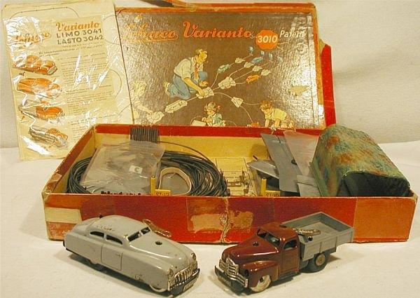 6008: Schuco Varianto 3010, 3042 with Box, 1950's, Exc