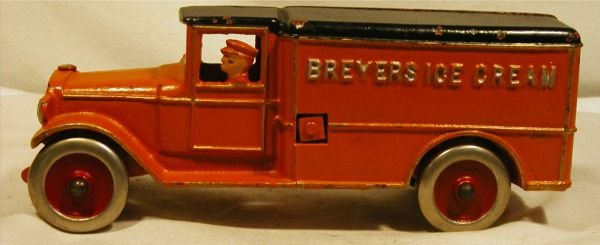 6052: Dent Breyer's Ice Cream Truck, 1932