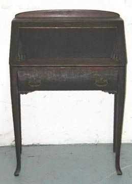 Walnut Lady's Drop Front Desk