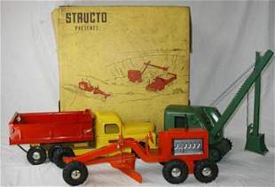 Structo #325 Assortment with Box