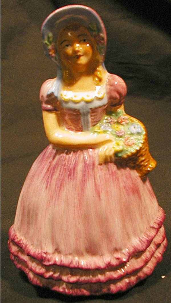 "1007: Coalport Peggy Figurine, 5""H, Excellent Condition"