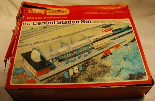 3013: Tri-Ang Hornby Made in England MIB, Box Little Ro