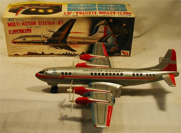 3021: Battery Operated American Airlines by Rosko with