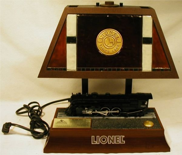 Sound Lionel Hudson 700e Animated Train Table Lamp W Light And Motion